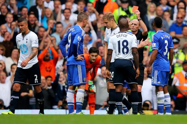Fernando Torres Won't Face Additional Discipline After Red Card vs. Tottenham