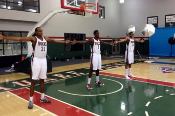 Milwaukee Bucks' Young Front Line Is Scary Long