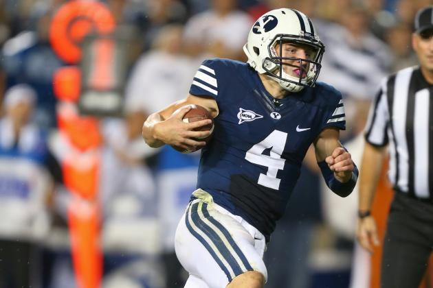 BYU's Rapid Offense Is Lengthening the QB Learning Curve