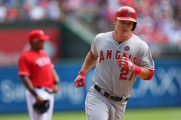 Trout Doesn't Expect to Wind Up AL MVP
