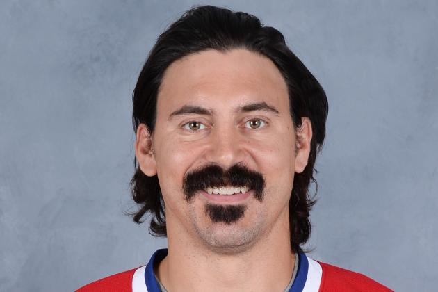 Enforcer Parros Ready for Action as Canadiens Play Host to Leafs