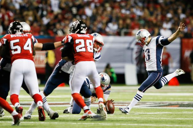 2013 Fantasy Football Kicker Rankings: NFL Week 5