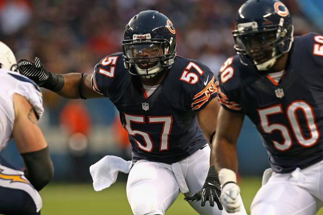 Chicago Bears Need to Start Using Depth at Linebacker