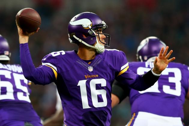 Vikings Pleased with Cassel Stirring Pass/run Mix