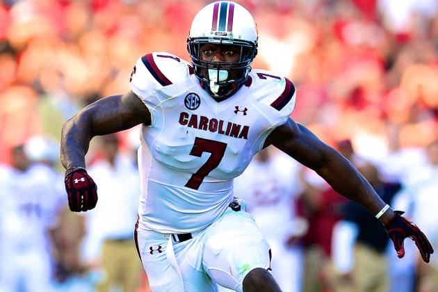 Steve Spurrier Displeased with Jadeveon Clowney, Says Star DE Needs to Step Up