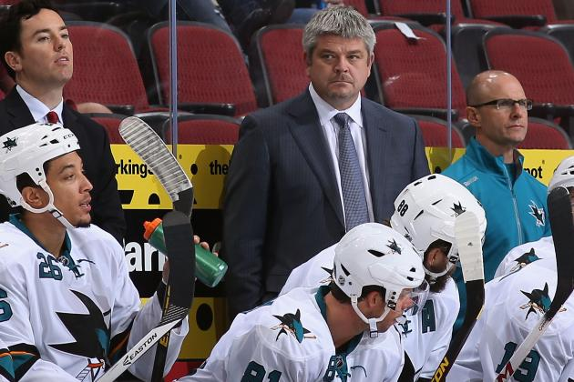 Sharks Notes: McLellan Sends Message, Tennyson Down