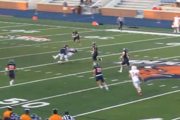 Bucknell Safety Lands Huge Hit, Gets Called for Penalty
