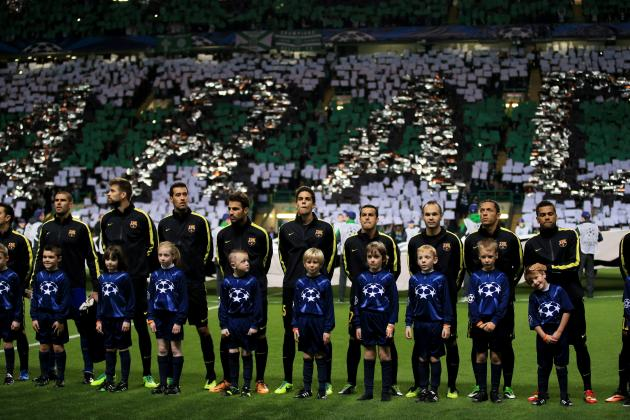 Celtic Fans Display 'This Is Paradise' Tifo and Troll Messi Before Barcelona Tie