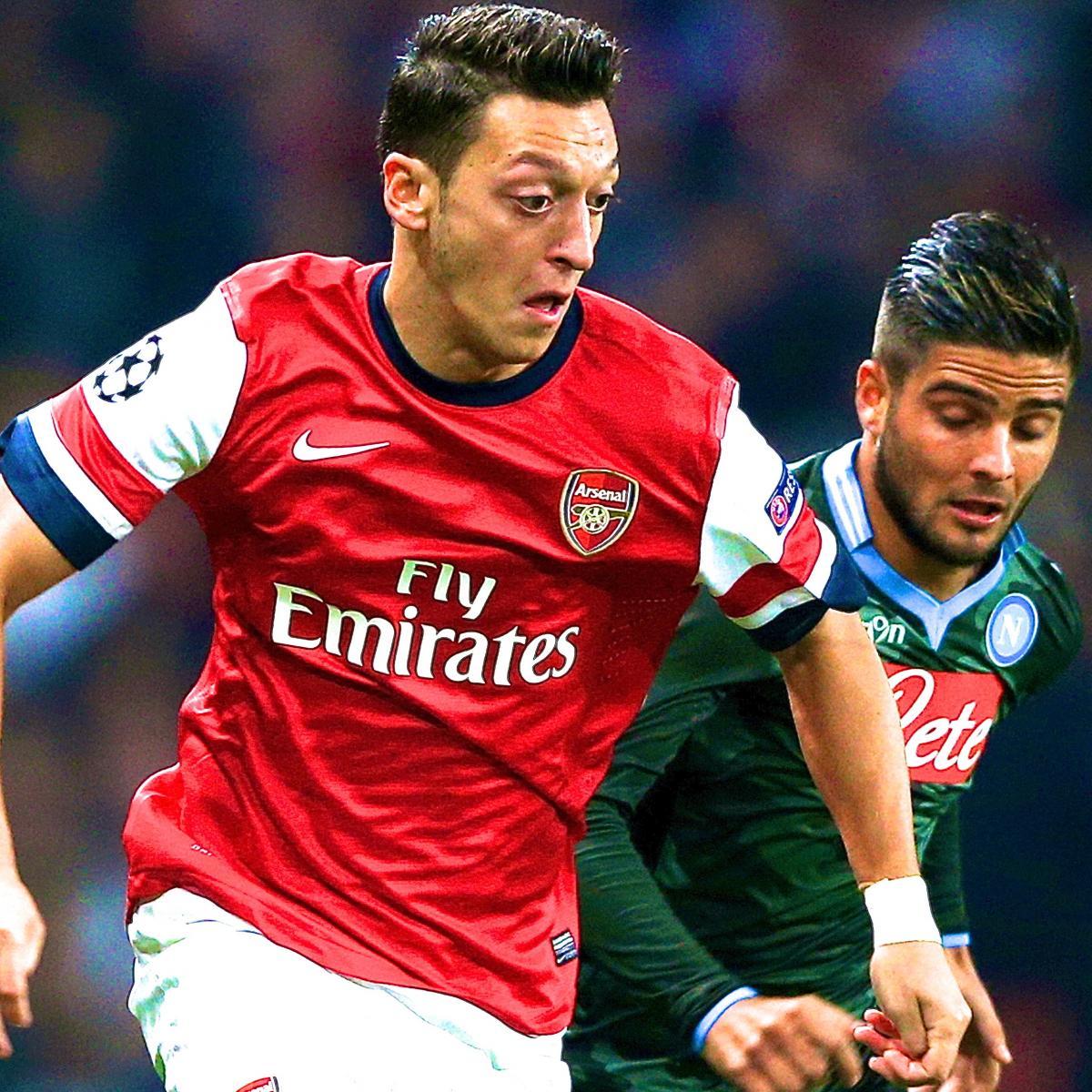 Arsenal Vs Barcelona Live Score Highlights From: Arsenal Vs. Napoli: Live Score, Highlights, Recap