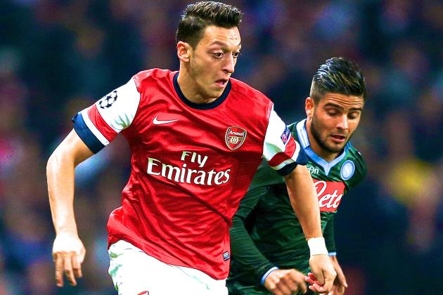 Arsenal vs. Napoli: Live Score, Highlights, Recap