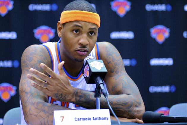 Air of Uncertainty Hangs Over New York Knicks Media Day