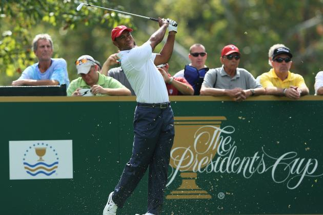 Presidents Cup 2013: Tee Times, Date and TV Schedule