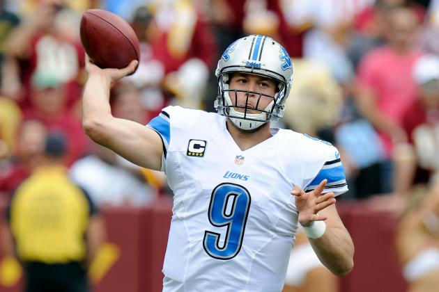 Debate: How Many Yards Will Stafford Throw for vs. Packers?