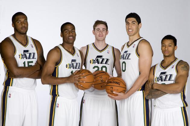 Utah Jazz Media Day 2013: Photos, Interviews and Takeaways
