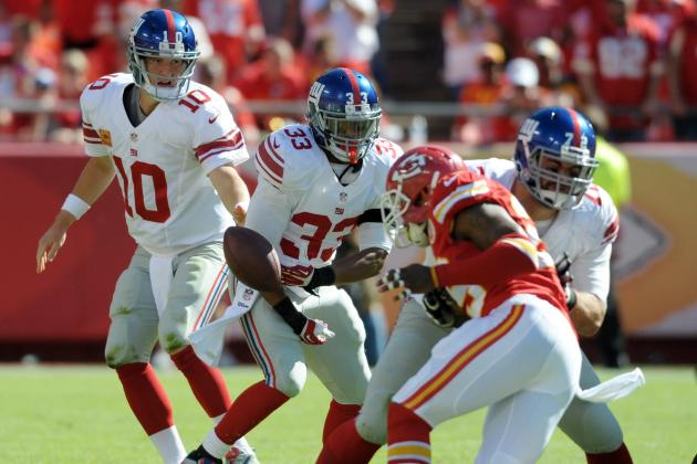 Da'Rel Scott Released by New York Giants