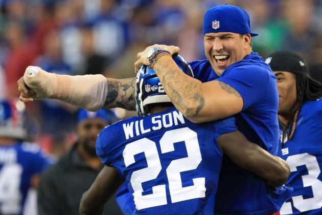Breaking Down David Wilson's Fantasy Stock After Giants Cut Da'Rel Scott