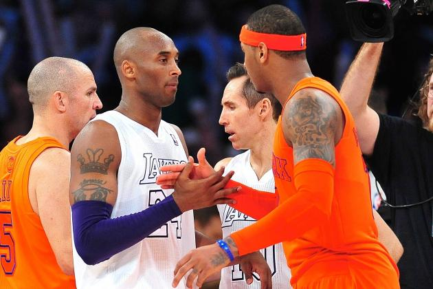 Is Kobe Bryant Enough for Carmelo Anthony to Spurn NY Knicks for LA Lakers?
