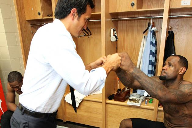 Is Erik Spoelstra the Right Coach to Keep LeBron James with Heat Long-Term?