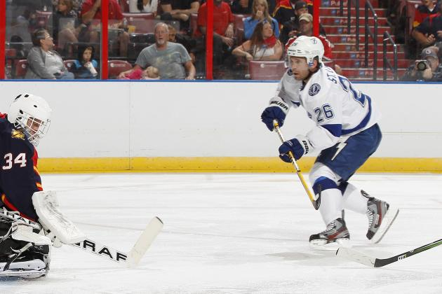 Martin St. Louis Named New Captain of Tampa Bay Lightning