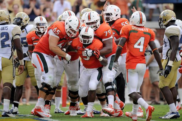 Miami Football: Win over Georgia Tech Would Set Tone for Canes ACC Title Run