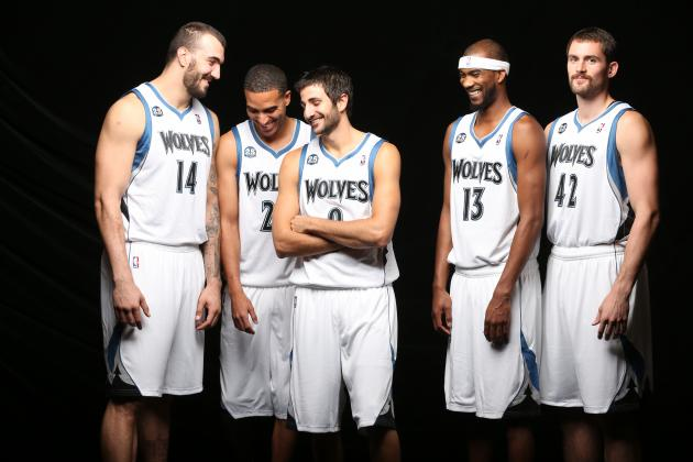 Minnesota Timberwolves Media Day 2013: Photos, Interviews and Takeaways
