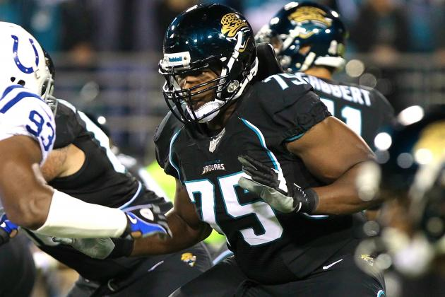 Jaguars Trade OT Eugene Monroe to Baltimore Ravens