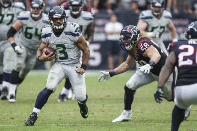 How Russell Wilson's Legs Saved the Seattle Seahawks in Houston