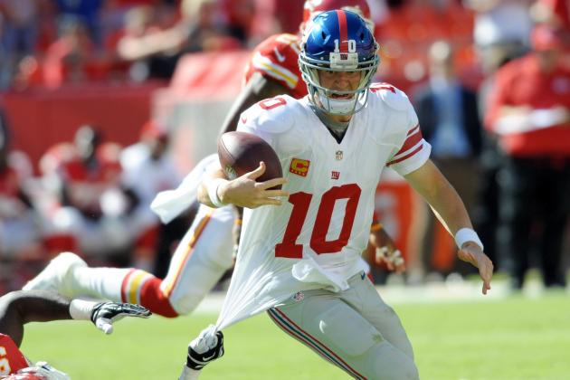 New York Giants Stats That Matter Through Week 4