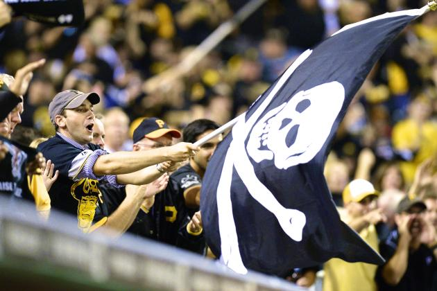 PNC Park Is '10th Man' in Pirates First Playoff Win in 21 Years