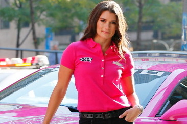 Danica Patrick Will Drive a Pink Car in October for Breast Cancer Awareness