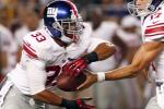 Giants Cut RB Da'Rel Scott After 1st Career Start