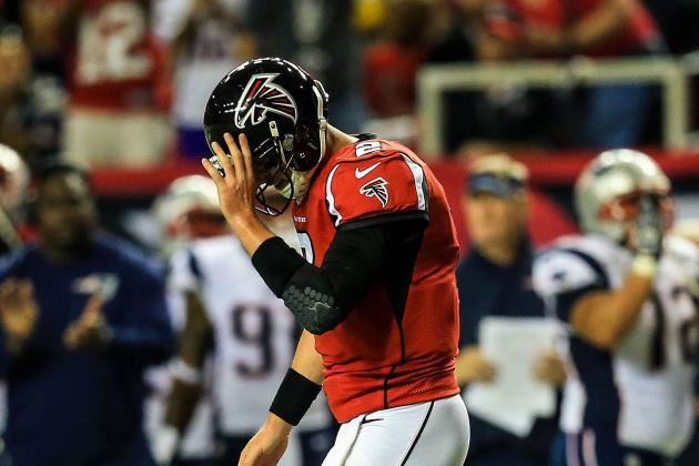 Why the Atlanta Falcons Need More Than Stats from Matt Ryan to Beat 1-3 Start