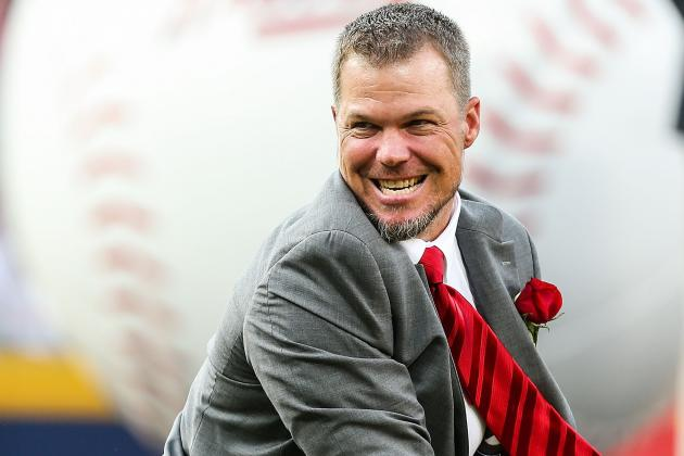 Chipper to Throw out Ceremonial 1st Pitch Thurs.