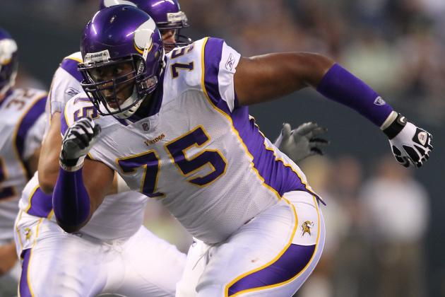 Vikings Waive Offensive Lineman DeMarcus Love