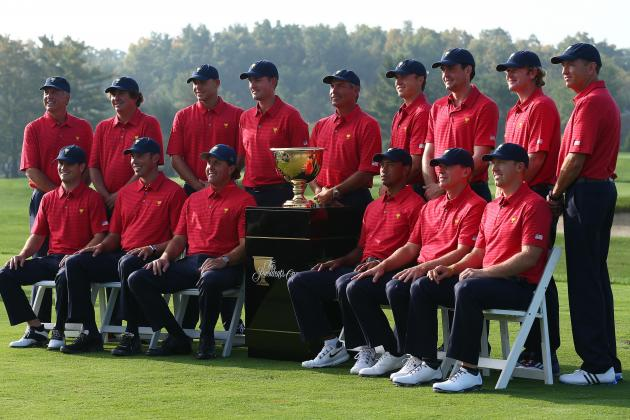 Presidents Cup Uniforms 2013: USA and International Team Outfit Photos