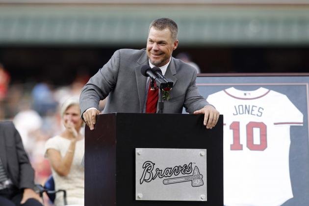 Chipper Jones to Throw out NLDS Game 1 First Pitch
