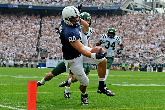 O'Brien Says Injured Tight End Matt Lehman's Football Days Aren't over