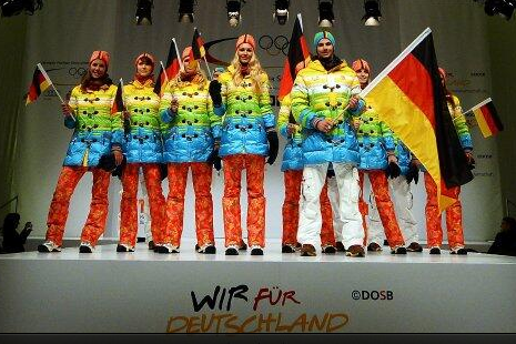 German Olympians Will Wear Rainbow-Colored Uniforms in Sochi