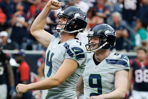 Hauschka Stays Perfect, Wins NFC Special Teams Award