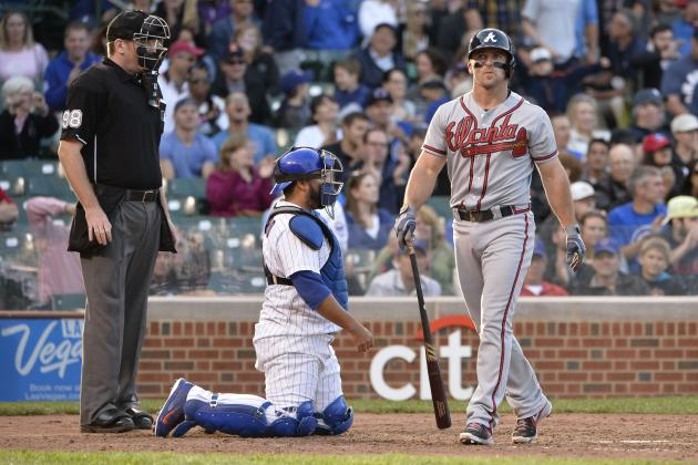 Are Dan Uggla's Days as an Impact Offensive Player Officially Over?