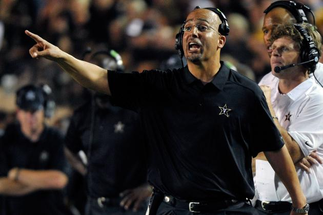 Vanderbilt Football: Can They Hold on to James Franklin Amid Recent Success?