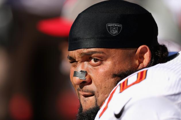 Donald Penn Lashes out at Reporters