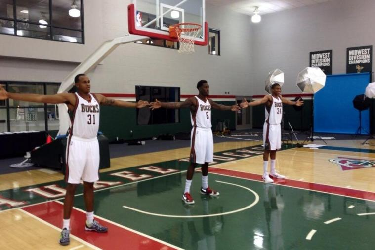 Milwaukee Bucks Big Men Have a Wingspan That Spreads 22 Feet Combined