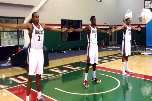 Milwaukee Bucks Big Men Have a Wingspan That Spreads 22 ...