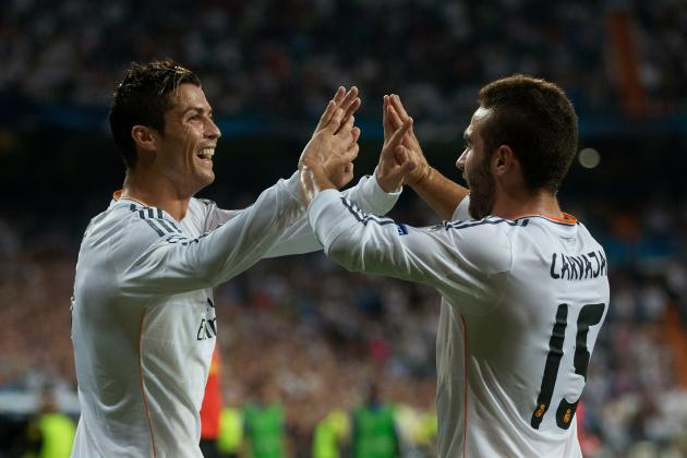 GIF: Cristiano Ronaldo Puts Real Madrid Ahead Against Copenhagen in UCL