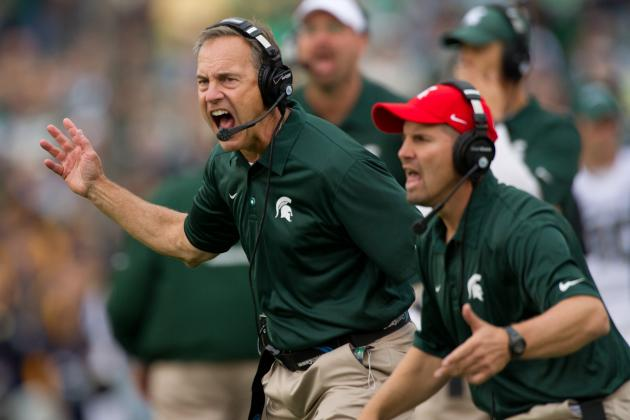 Mark Dantonio Seeks 'explosive Plays' from Michigan State