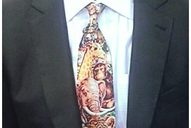 Dallas Eakins' Hideous Jungle Animal Tie: The Story Behind It