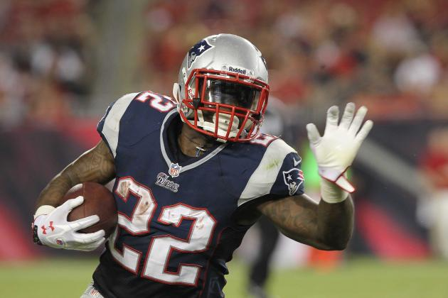 Stevan Ridley Injury: Updates on Patriots RB's Thigh
