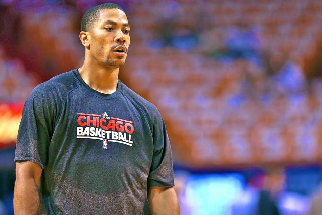 Derrick Rose: 'If It's My Mom on the Court, She's Going to Get Killed'