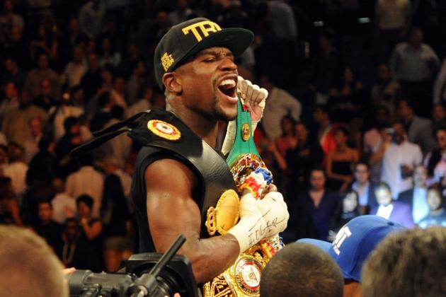 Floyd Mayweather Reportedly Will Fight Amir Khan in Las Vegas on May 3
